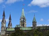 Ottawa parlament — Stock fotografie