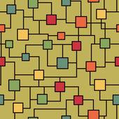 Microchip seamless pattern — Stock Vector