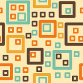 Abstract squares seamless pattern — Stock Vector