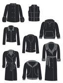 Prendas de vestir exteriores — Vector de stock
