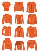 Sweaters — Stock Vector