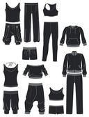 Sportswear — Stock Vector