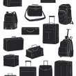 Travel bags — Stock Vector