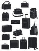 トラベル バッグ — ストックベクタ