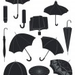 Umbrellas — Stock Vector #20159325