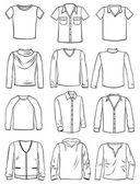 Menswear — Stock Vector