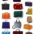 Set of  bags - Stock Vector