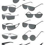 Men's sunglasses — Stock Vector