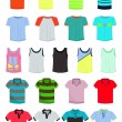 Royalty-Free Stock Vector Image: Male t-shirts