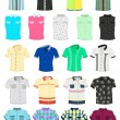 Royalty-Free Stock Vector Image: Summer shirts