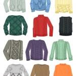 Swetry z wzorami — Wektor stockowy
