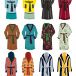 Men's robes — Stock Photo