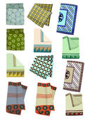 Men's handkerchiefs — Stock Vector