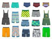 Shorts and panties — Stock Vector