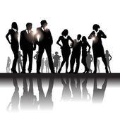 Businesspeople — Stock Vector