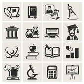 Education. Set of icons. — Stock Vector