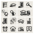 Icons set furniture — Stock Vector #20574037