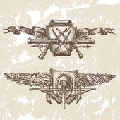 Heraldyka, wektor — Wektor stockowy