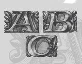 ABC. Vector illustration — Stock Vector