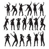 Dancer. Vector illustration — Stock Vector