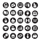 Set of icons. business — Stockvector