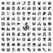 Set of icons. education - Stok Vektör