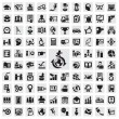 Set of icons. education - Stock vektor
