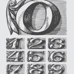 numéros du vecteur — Vecteur #24135029