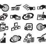 Money. Vector illustration — Stock Vector #27474383