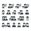 Family icons — Stock Vector #28269203