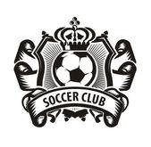 Soccer. Soccer ball — Stock Vector