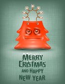 Shopping bag. Merry Christmas and happy New Year — Stock Photo