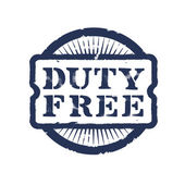Discount. Duty Free — Stock Vector