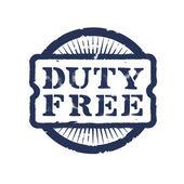 Discount. Duty Free — Stock Vector