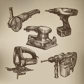 Tools. Vector format — Stock Vector