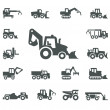 Stock Vector: construction equipment