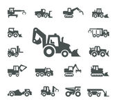 Construction equipment — Stock Vector