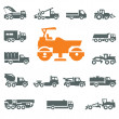 Transportation icons. Vector format — Stock Vector