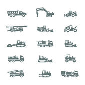 Сonstruction machinery — Stock Vector