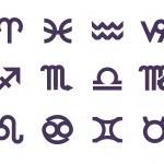 Zodiac symbols. Vector format — Stock Vector #35893147