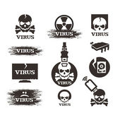 Virus. Vector format — Stock Vector