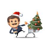 рождественские продажи. векторный формат — Cтоковый вектор