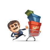 Sale. Vector format — Stock Vector