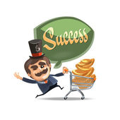 Success. Vector format — Stock Vector