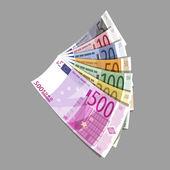 Euro. Vector format — ストックベクタ