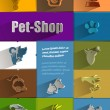 Pet-Shop. Vector format — Stock Vector