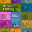 Vetorial Stock : Recreation fishing. Vector format