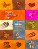 Happy valentine's day. Vector format. — Stock Vector