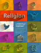 Religion. Vector format — Stock Vector