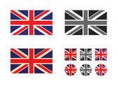 UK. Vector format — Stock Vector